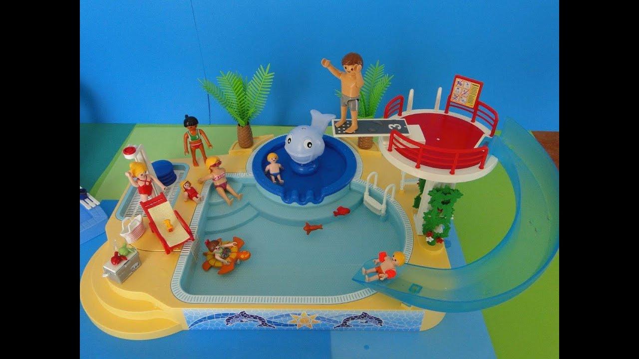 Playmobil City Life Haus Maison Moderne Luxusvilla 5574 By ... encequiconcerne Piscine Playmobil 5575