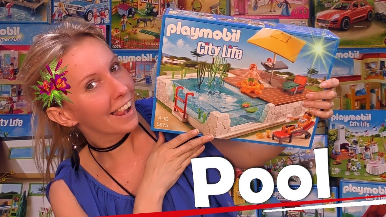 Playmobil City Life Haus Maison Moderne Luxusvilla 5574 By ... intérieur Piscine Playmobil 5575