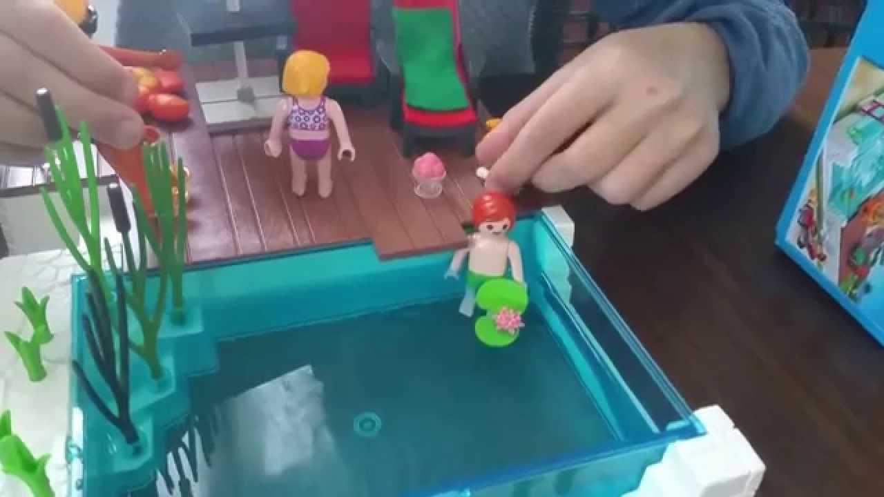 Playmobil Piscine Avec Terrasse - dedans Piscine Playmobil 5575