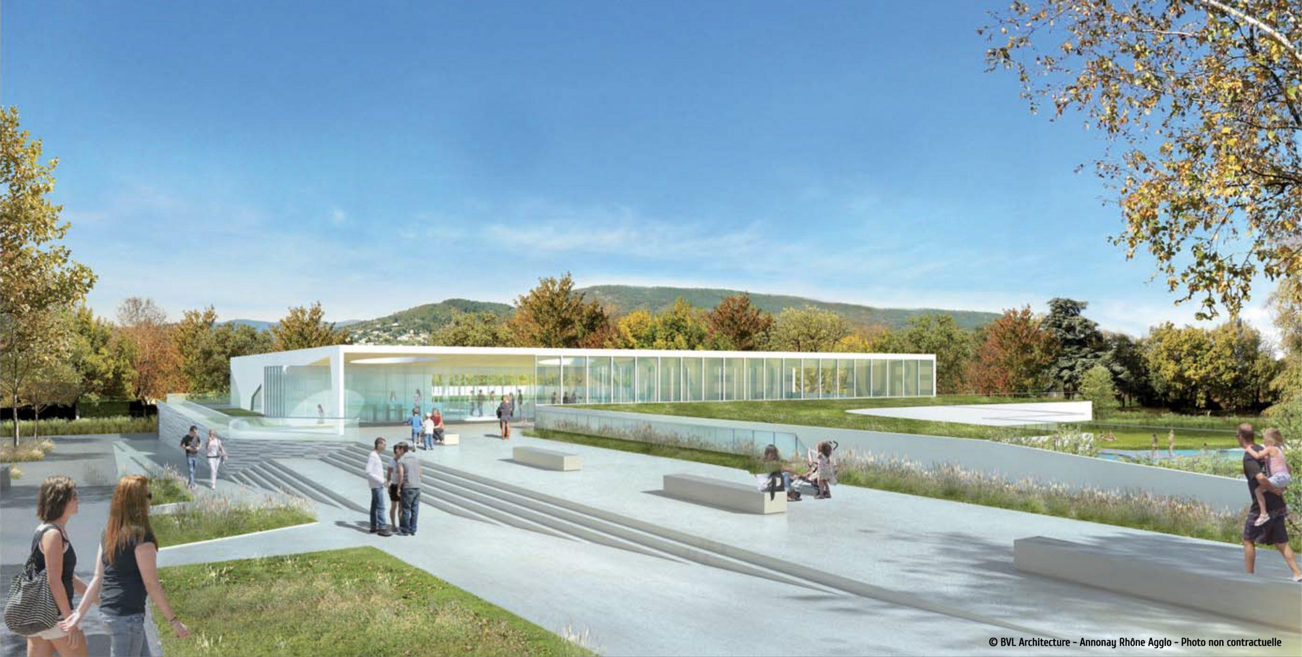 Plongez Dans Votre Futur Centre Aquatique Aquavaure ... concernant Piscine Annonay