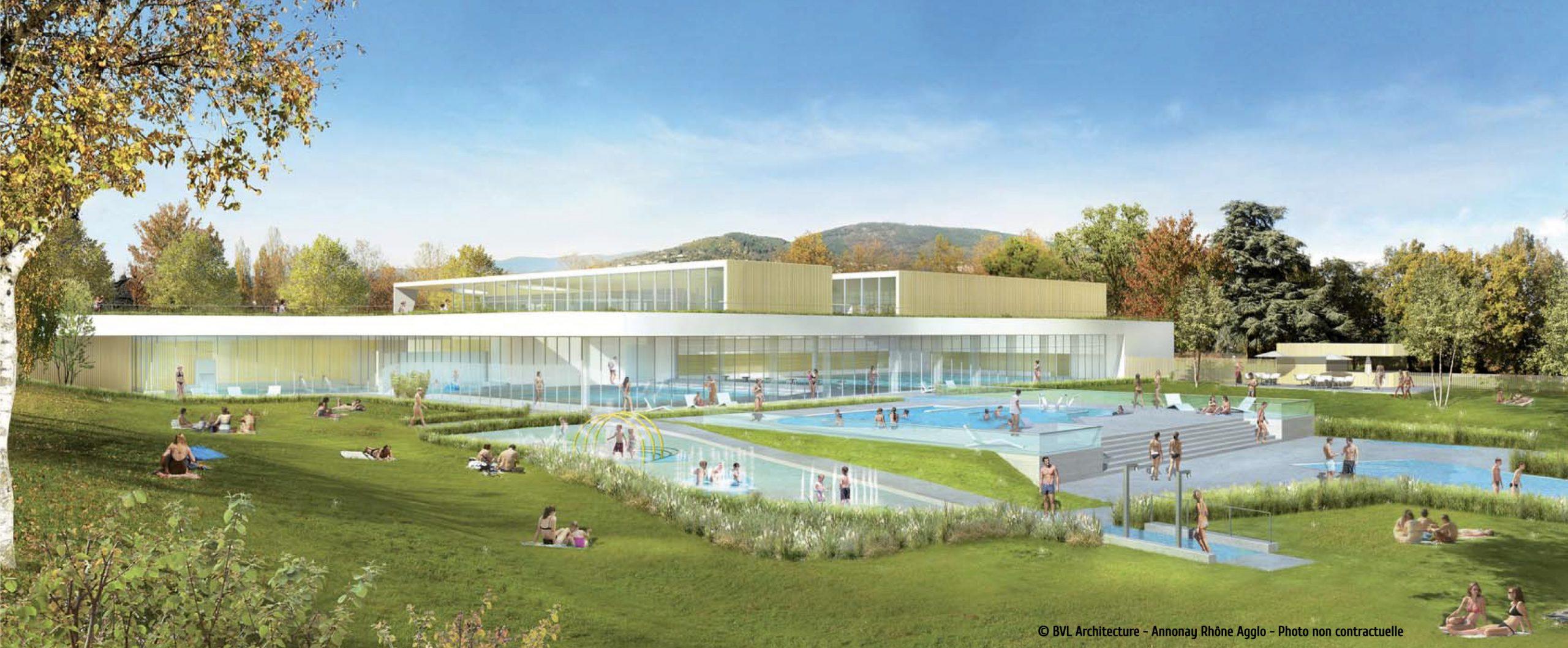 Plongez Dans Votre Futur Centre Aquatique Aquavaure ... destiné Piscine Annonay