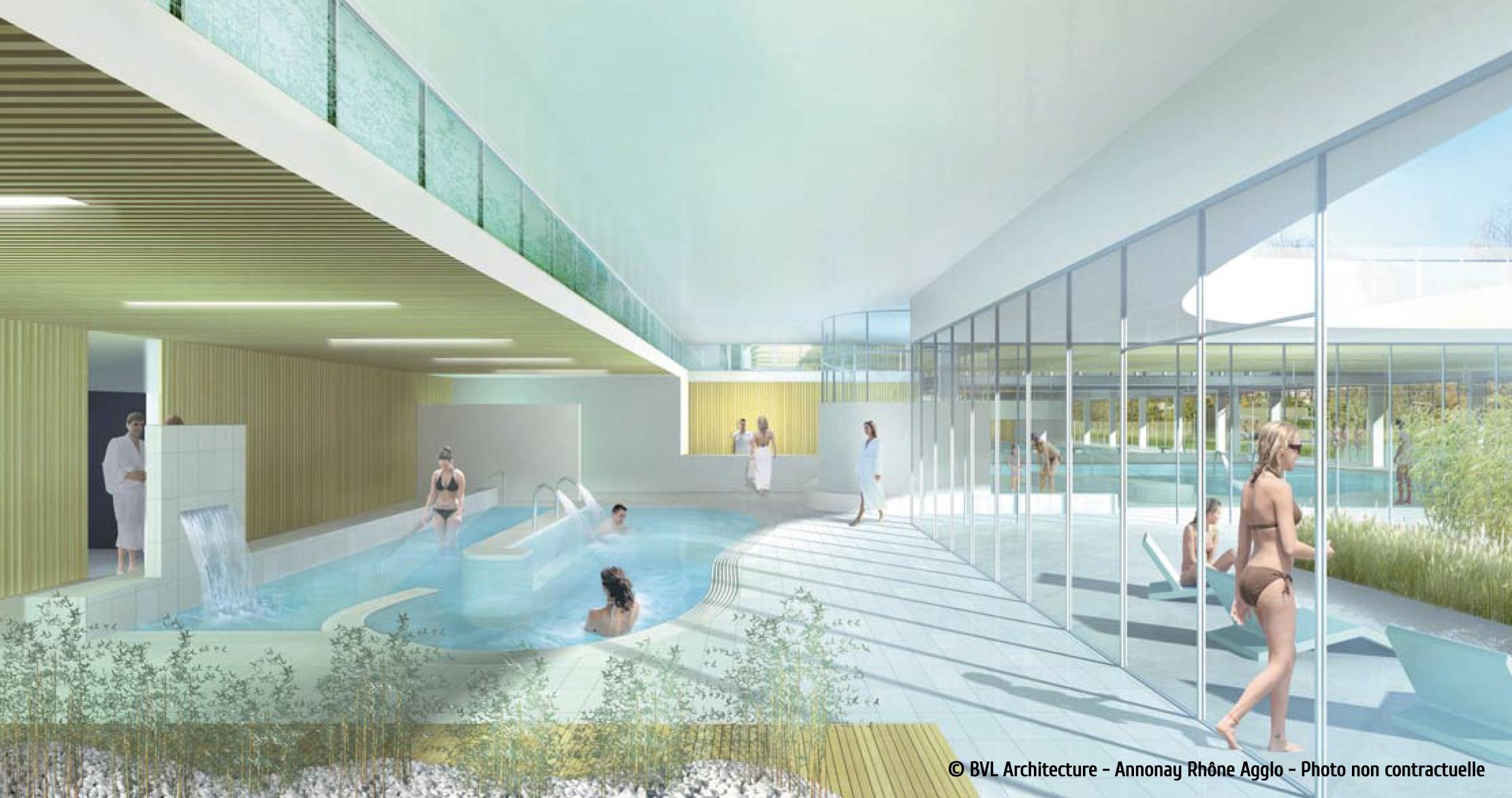 Plongez Dans Votre Futur Centre Aquatique Aquavaure ... encequiconcerne Piscine Annonay