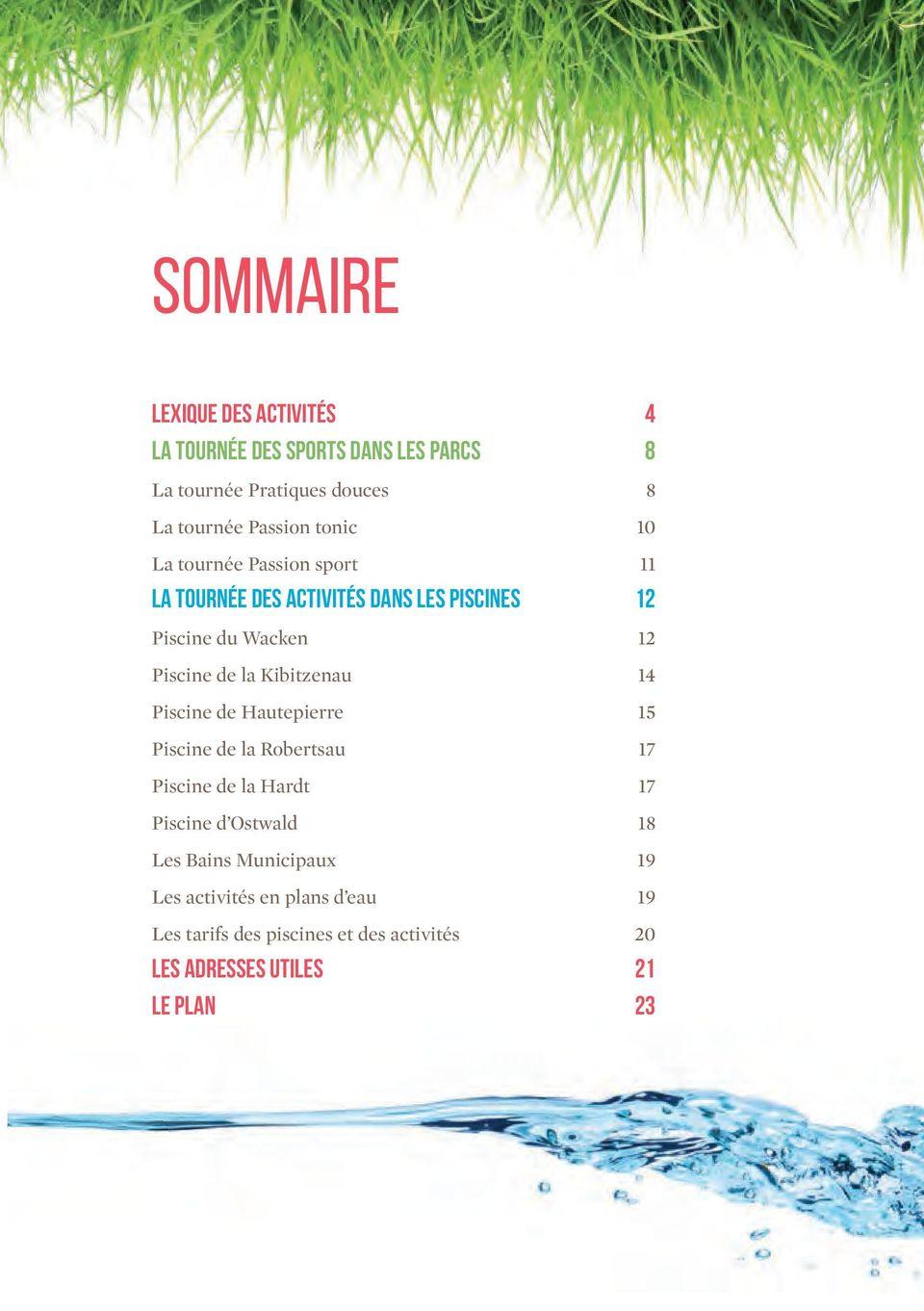 Plus D Rmation Sur Ou Sur Le Site Mobile - Pdf ... tout Piscine De La Hardt