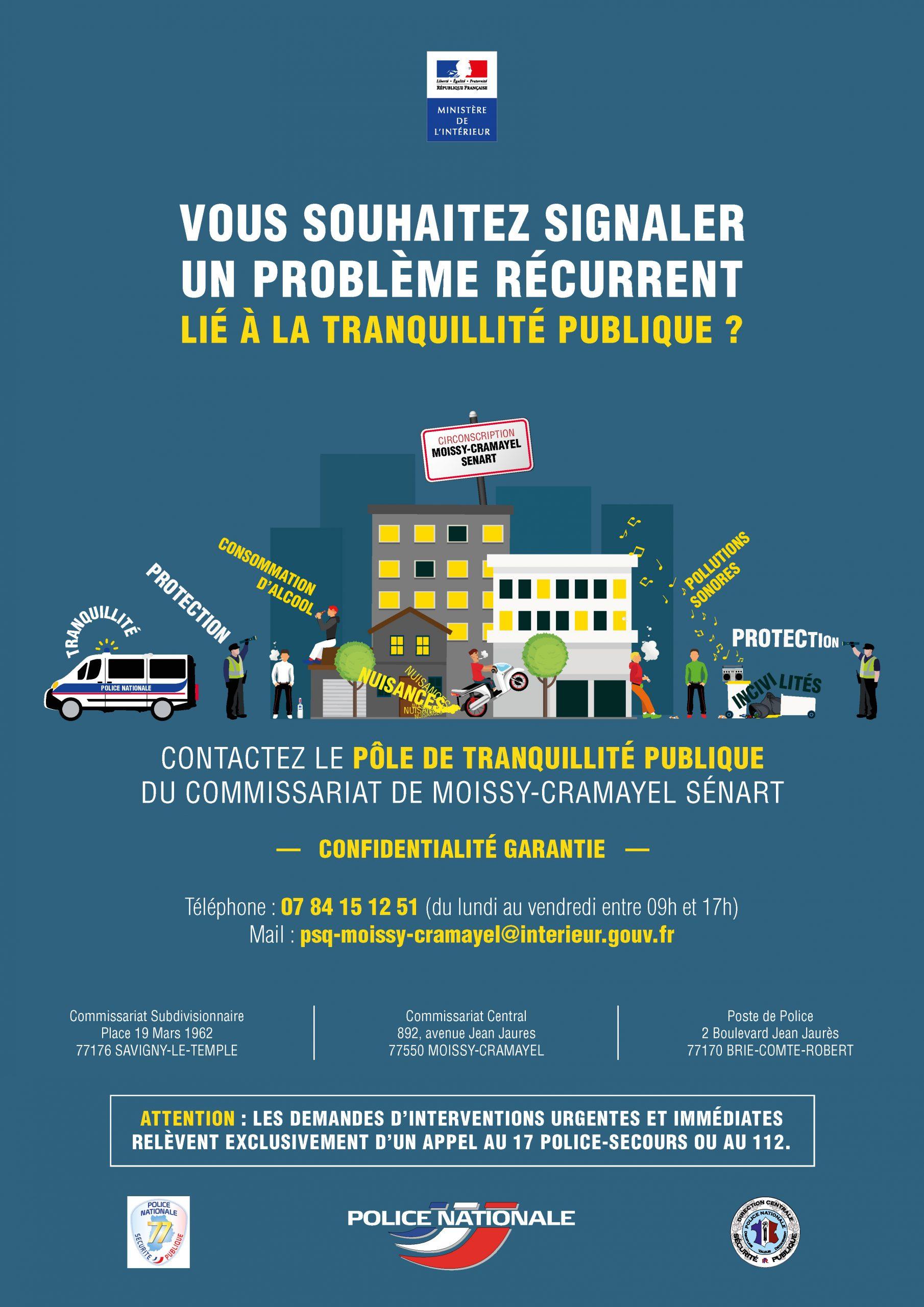 Pôle De Tranquillité Publique • Mairie Vert-Saint-Denis concernant Piscine De Moissy Cramayel