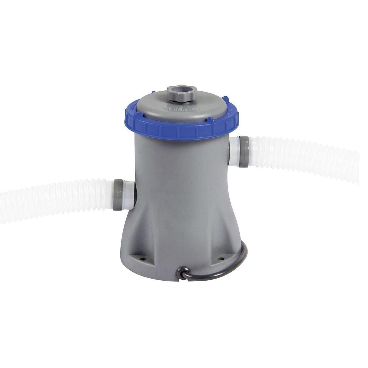 Pompa Cu Filtru Pentru Curatat Piscine, Bestway 58381, Flowclear, 1249 L/h dedans Filtre Pompe Piscine Intex