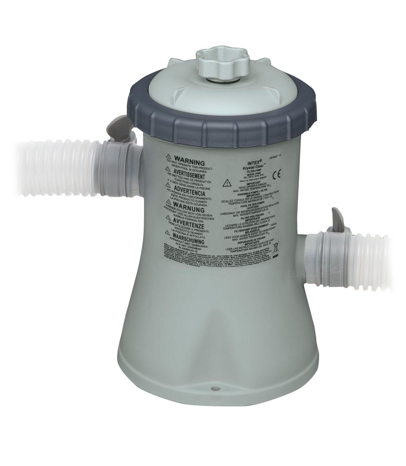 Pompa Filtrare Apa Piscina Intex 28602, 1250 L Apa/h à Filtre Pompe Piscine Intex