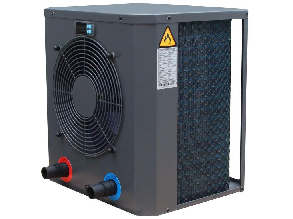 Pompe À Chaleur Piscine Ubbink Compact 20 Heatermax 4,20Kw dedans Pompe A Chaleur Piscine Hors Sol