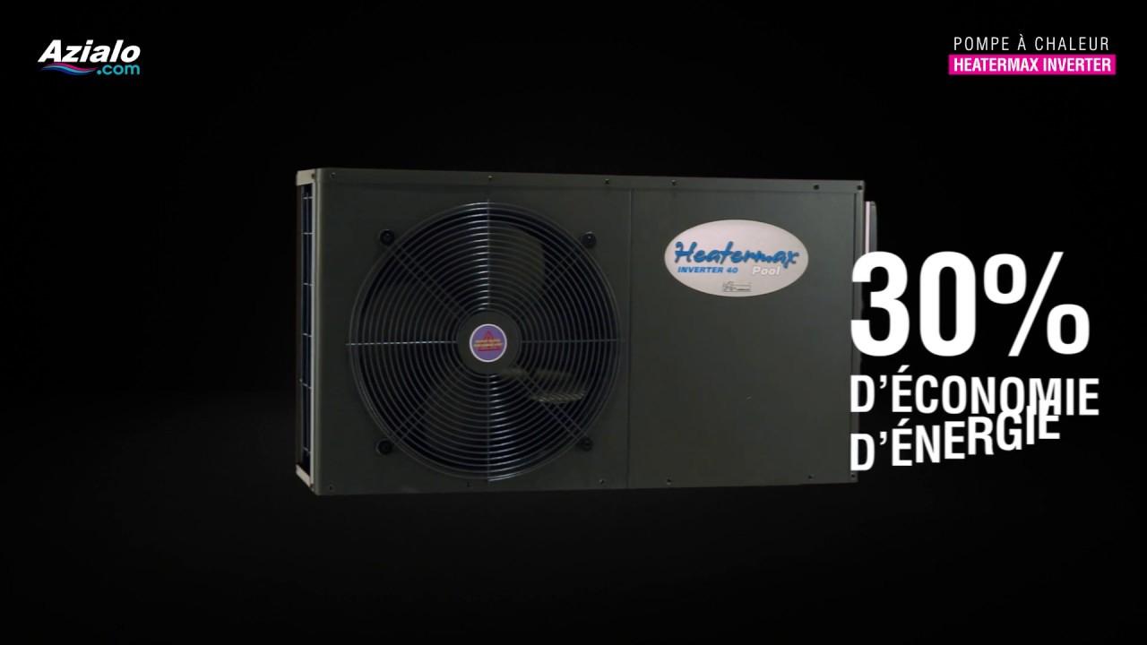 Pompe À Chaleur Ubbink Heatermax Inverter pour Azialo Piscine