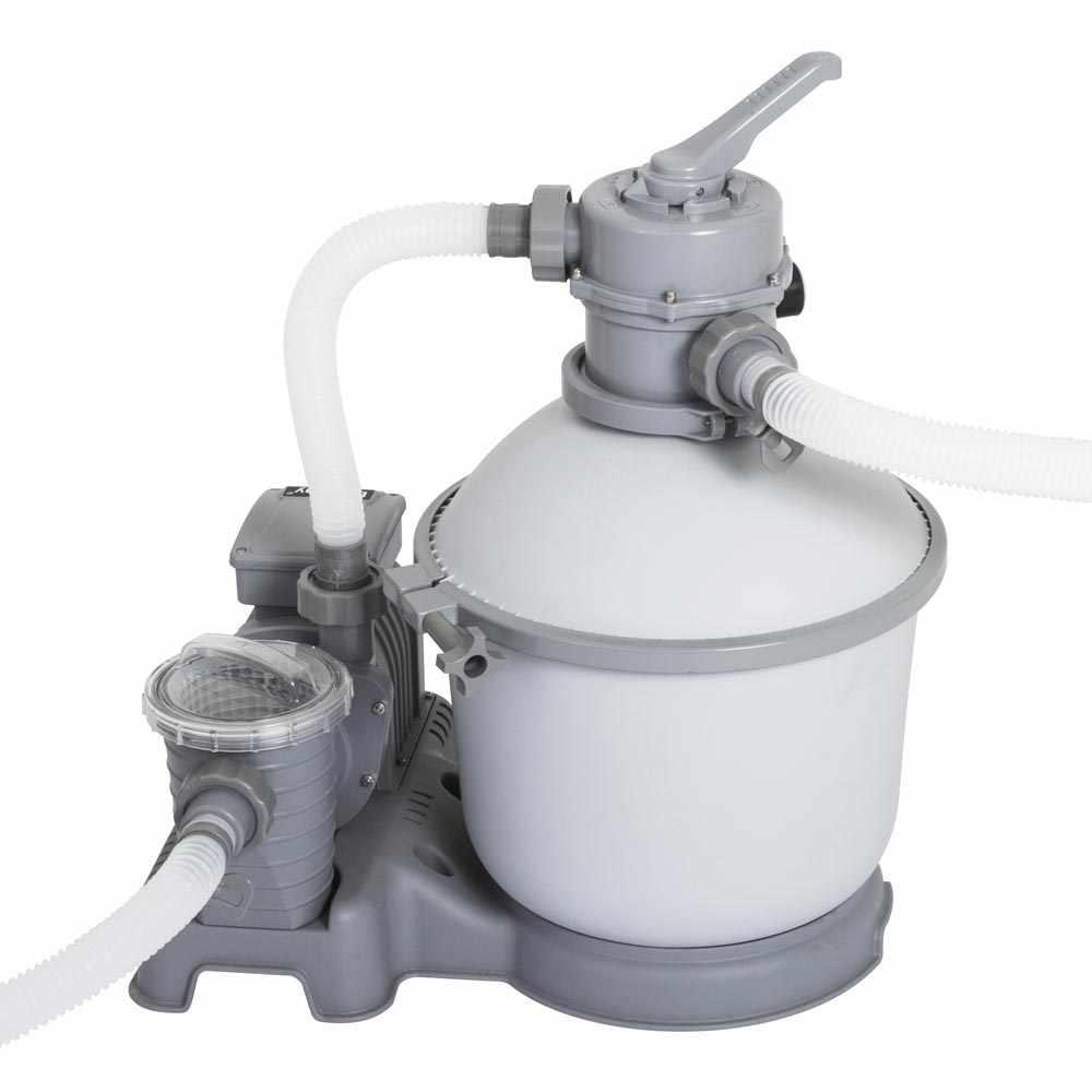 Pompe Filtrante À Sable Bestway 58400 Pour Piscines Hors-Sol Bestway Intex pour Pompe Filtration Piscine Hors Sol Intex