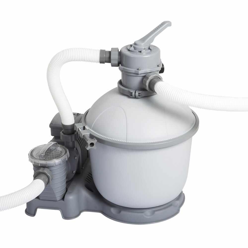 Pompe Filtrante À Sable Bestway 58404 Flowclear Pour Piscines Hors-Sol  Intex Bestway intérieur Pompe Pour Piscine Intex