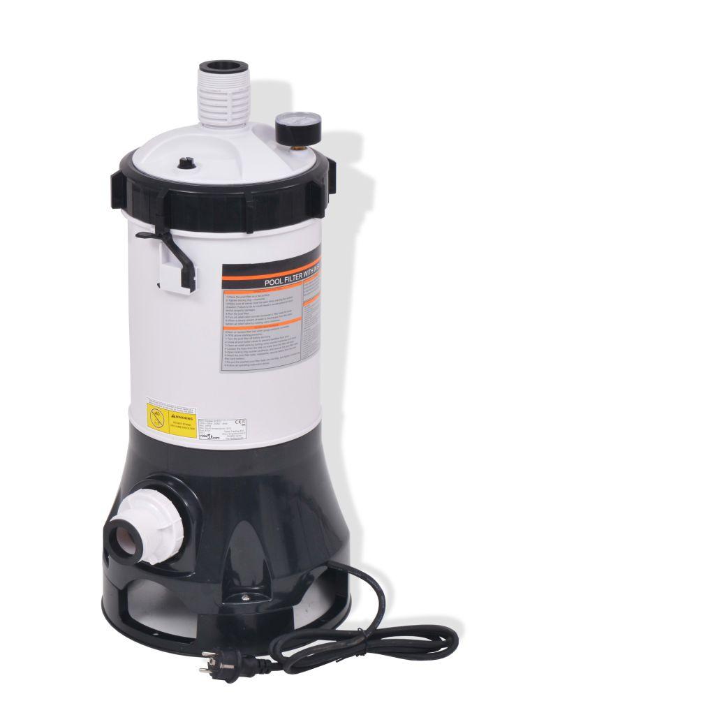 Pompe Filtrante De Piscine Intex Bestway 185 W 4,4 M³/h - 91171 intérieur Pompe Piscine Intex 6M3