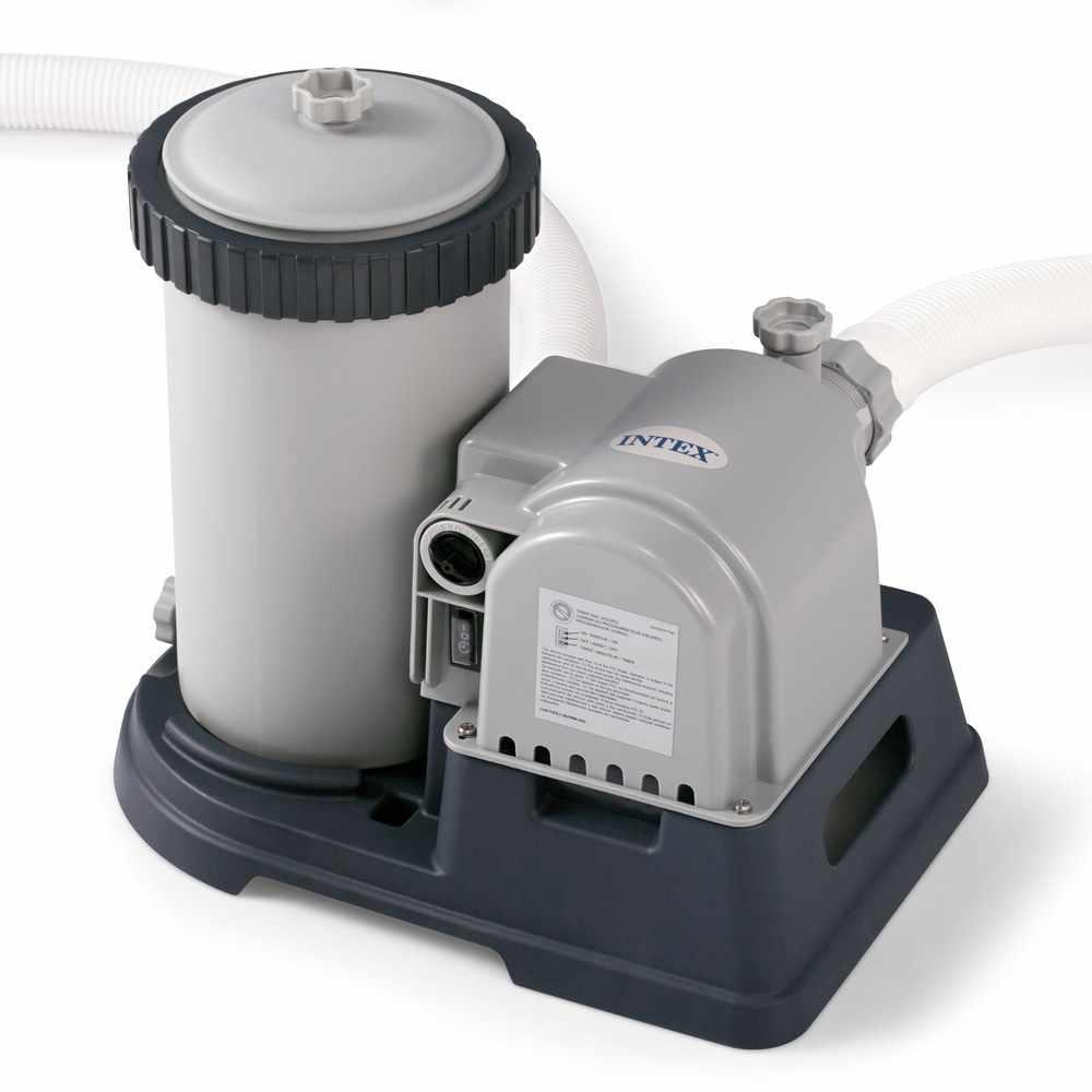 Pompe Filtrante Intex 28634 Easy Frame 9463 L/h Pour Piscines Hors-Sol pour Pompe Pour Piscine Intex