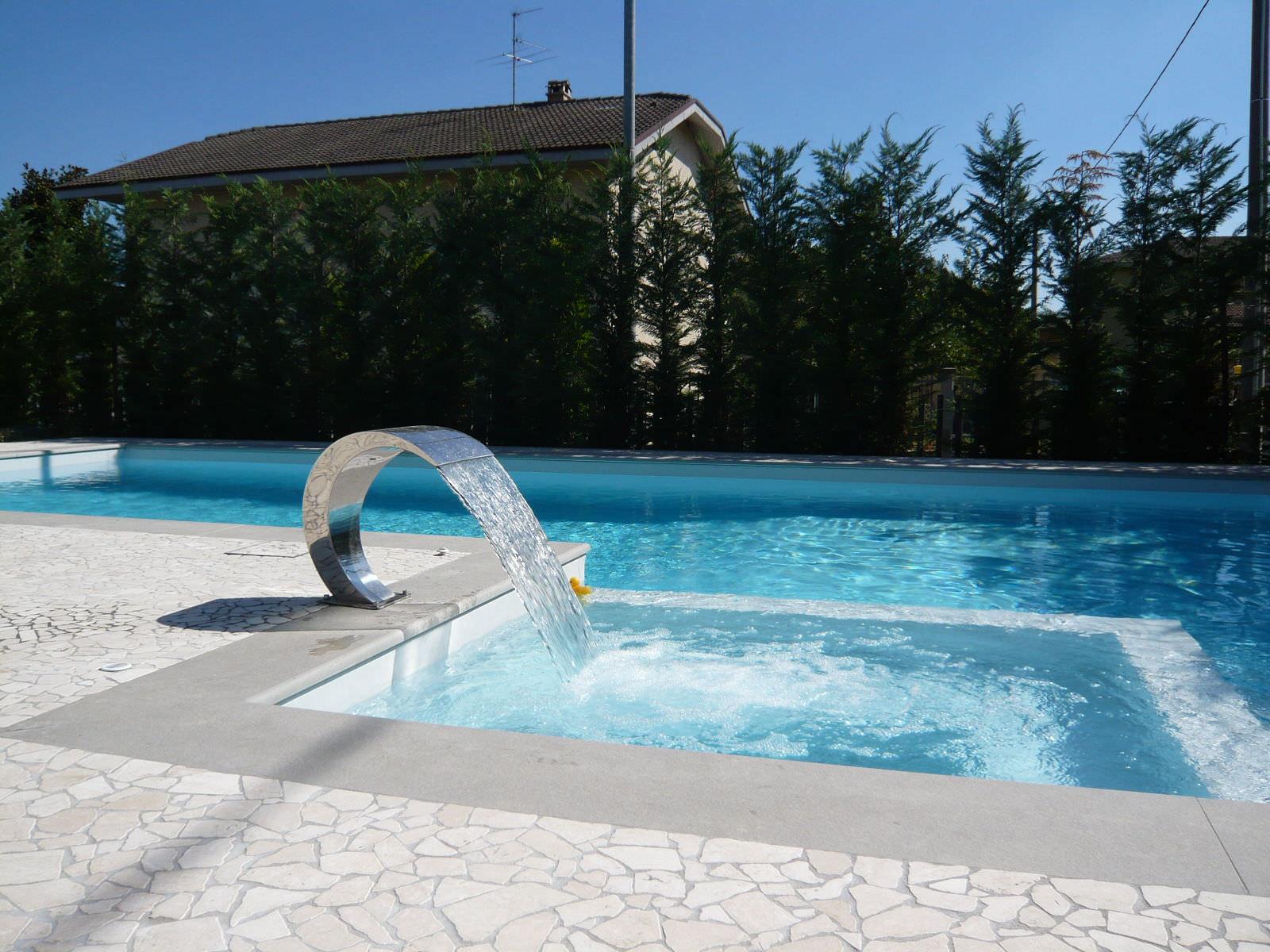 Pool Fountain - Edilfare Piscine serapportantà Piscine De Fontaine