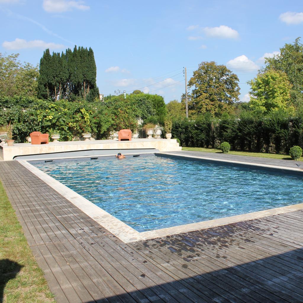 Pool Staging Et Transformation De Piscine - Hénocque Piscines pour Piscine De La Riche