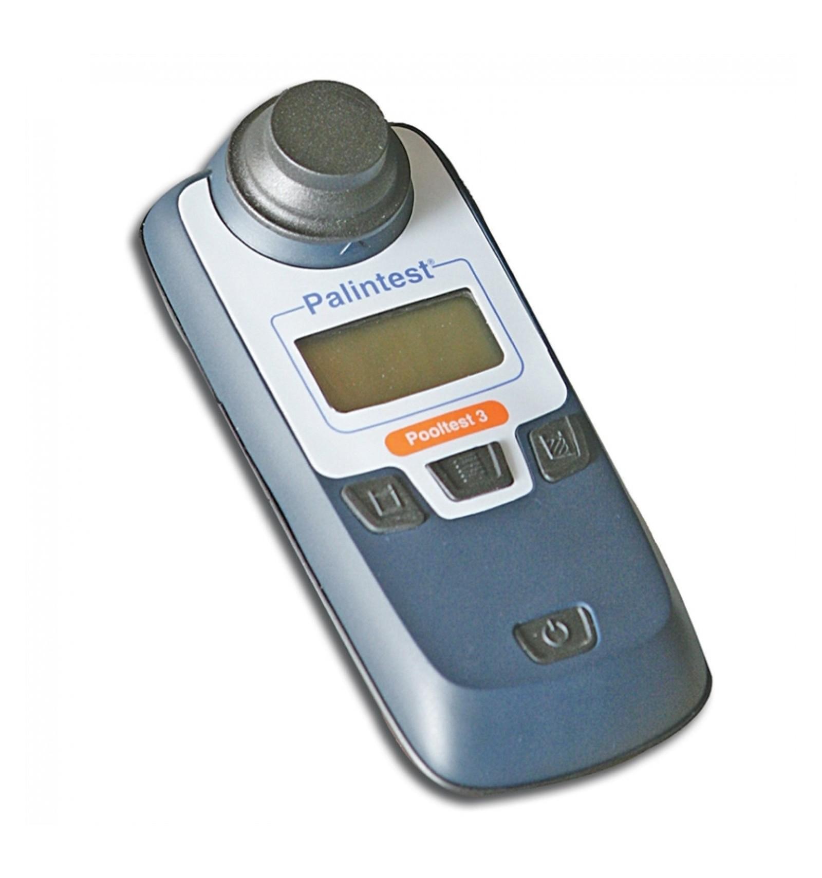 Pooltest3 Palintest Photomètre Chlore, Ph, Stabilisant Piscine avec Photomètre Piscine