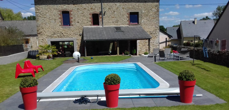 Pose De Piscine Coque Polyester - La Bazouge-Des-Alleux (53 ... concernant Piscine Mayenne