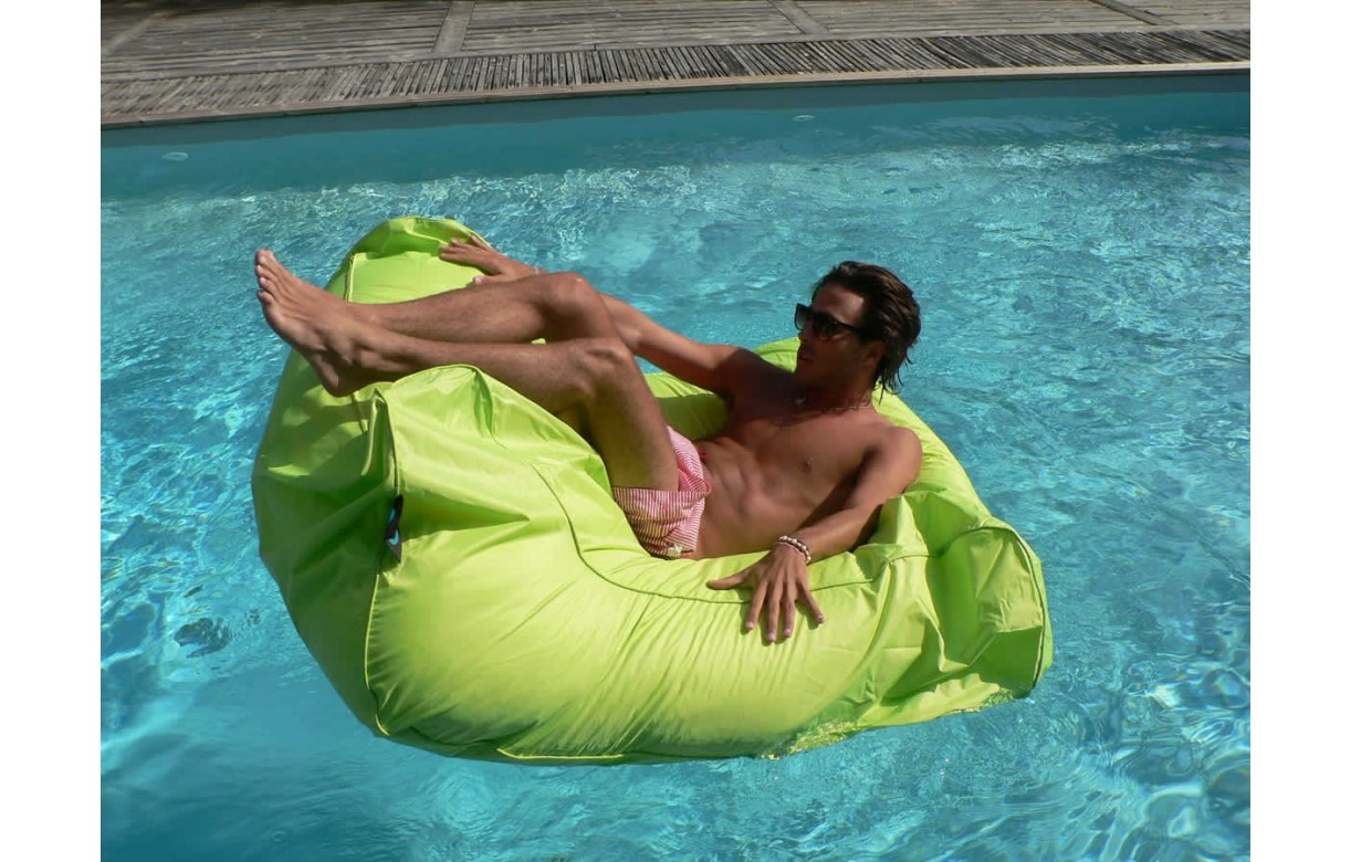 Pouf Géant Canapé Fauteuil De Piscine Sit In Pool - 11 Coloris concernant Fauteuil De Piscine