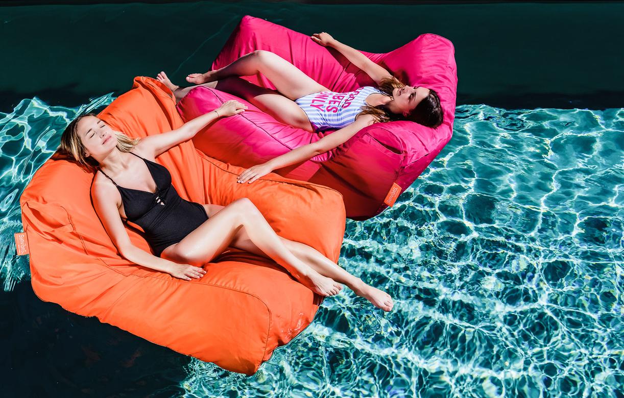 Pouf Géant Canapé Fauteuil De Piscine Sit In Pool - 11 Coloris encequiconcerne Fauteuil De Piscine