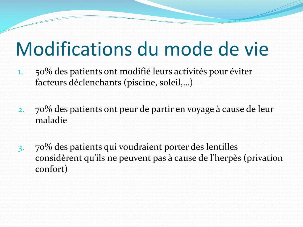 Ppt - Qualité De Vie Chez Les Patients Atteints De Kératite ... à Lentilles Piscine