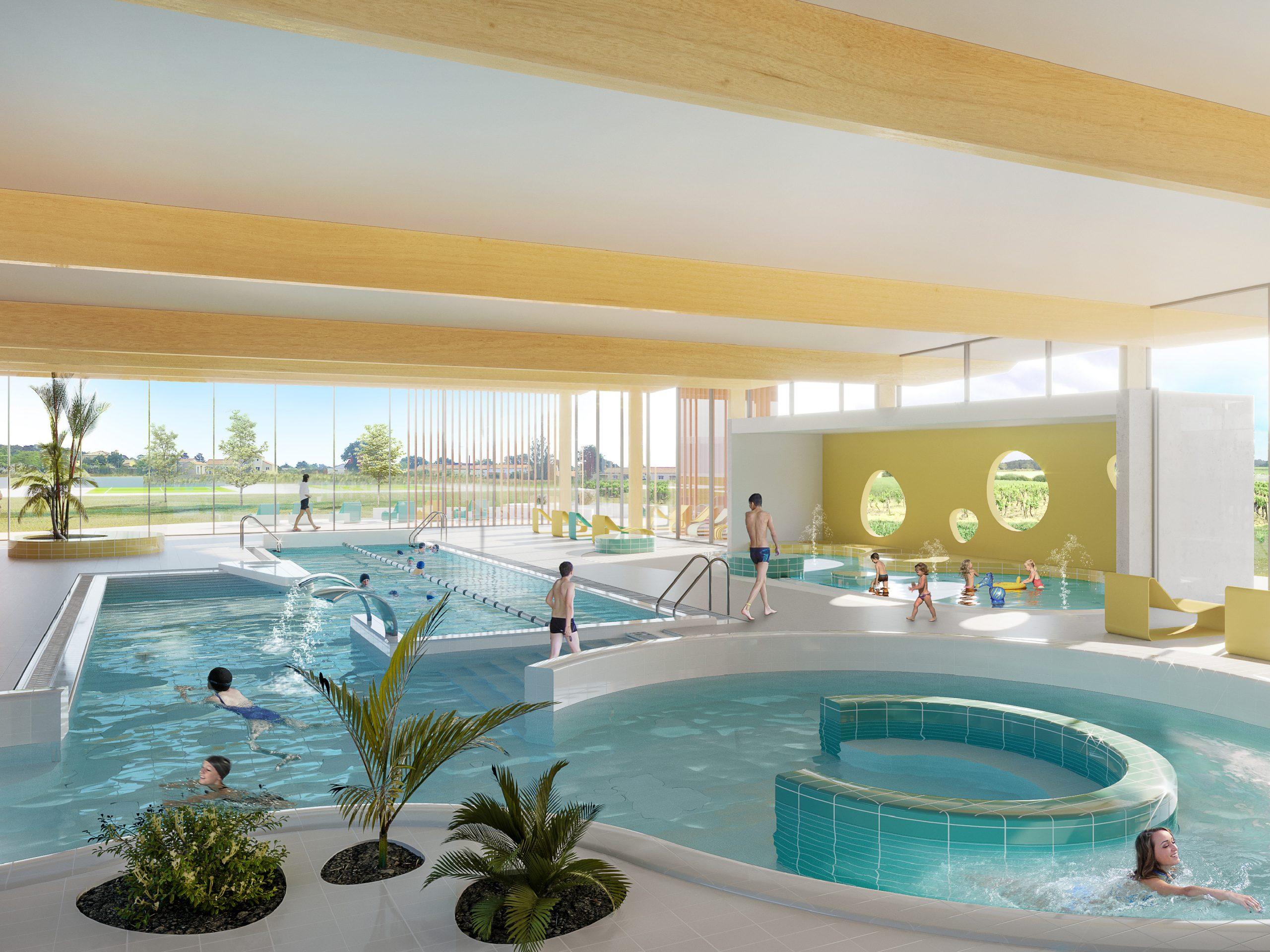 Premières Esquisses Du Futur Centre Aquatique: Clisson Sèvre ... tout Piscine Clisson