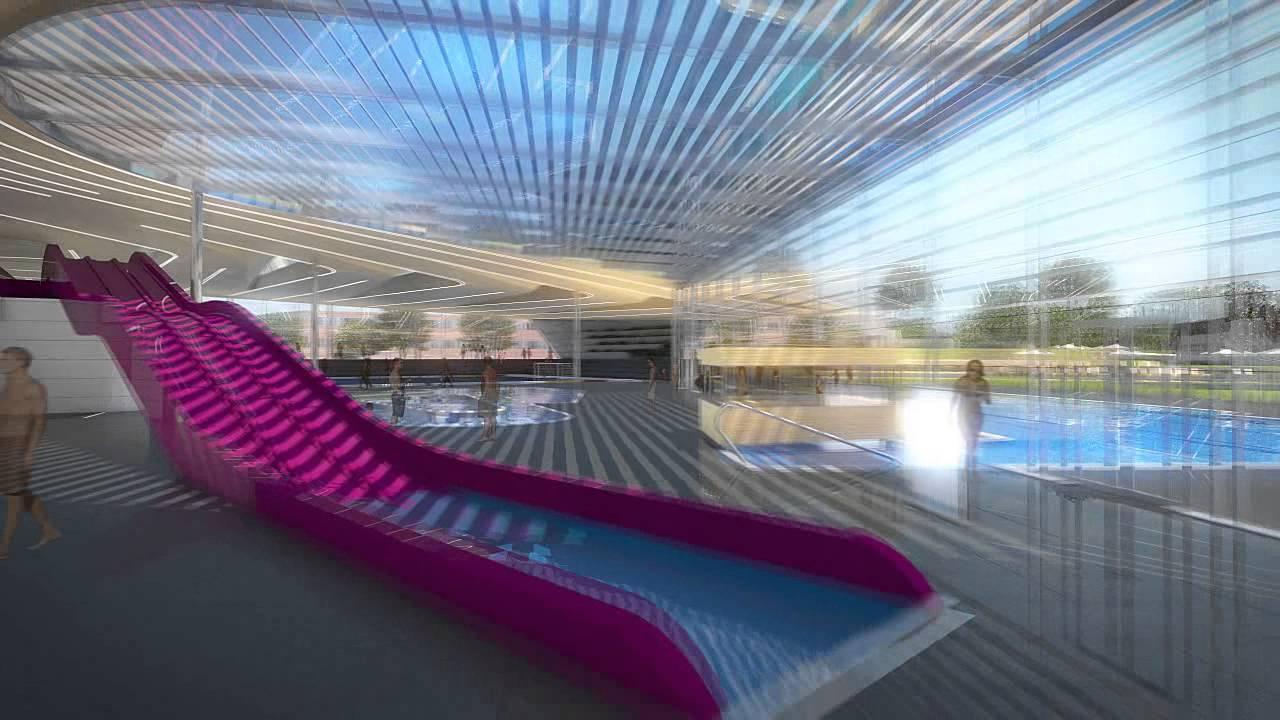 Présentation Du Futur Centre Aquatique De Douai (59)   Caue ... à Piscine Sin Le Noble