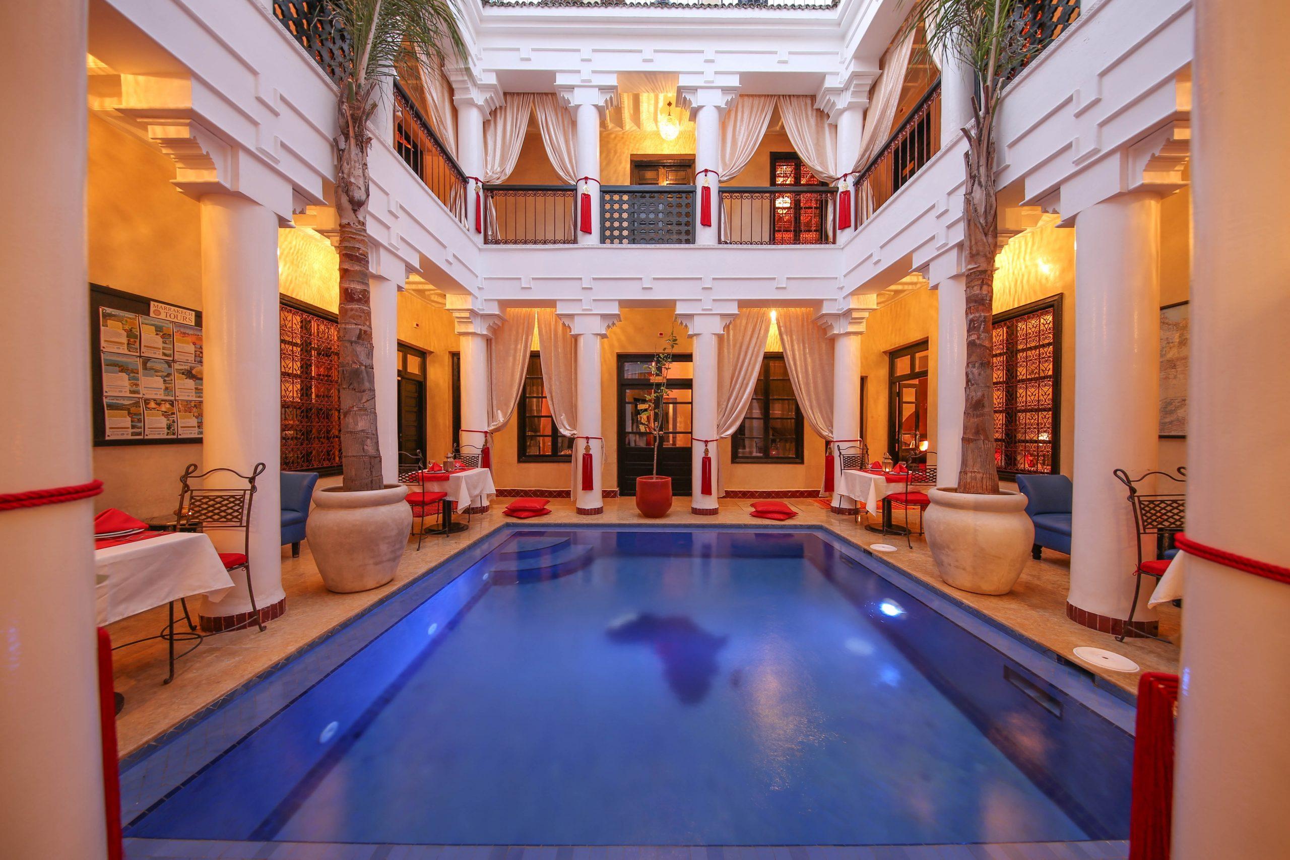 Privatisation Riad Marrakech Avec Piscine Chauffée Et Hammam (2) pour Riad Marrakech Avec Piscine