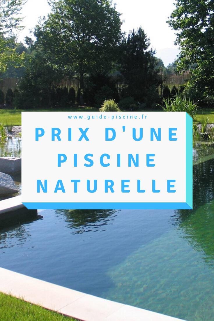 Prix D'une Piscine Naturelle | Piscine, Autoconstruction Et ... dedans Autoconstruction Piscine