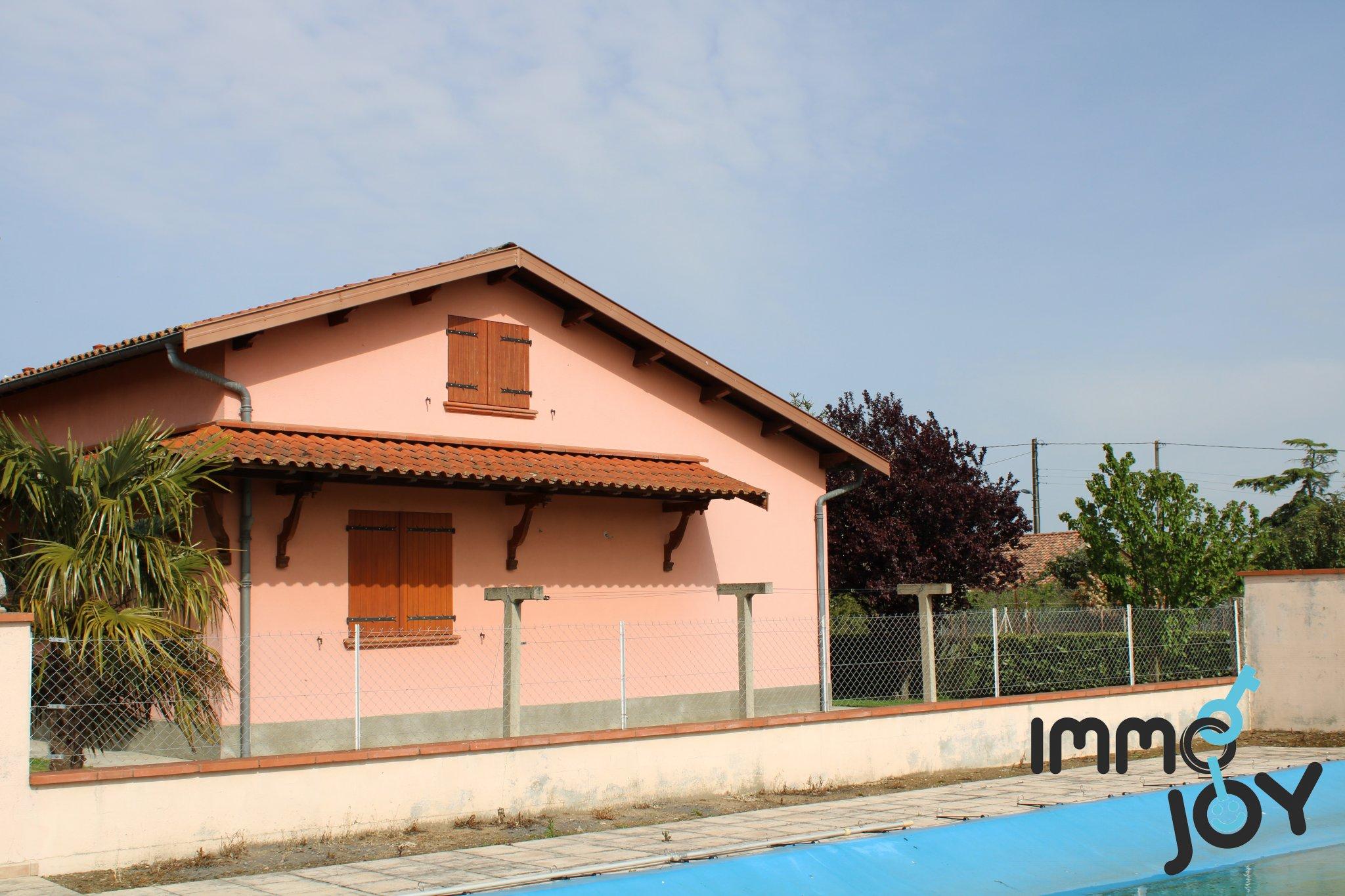 Proche Borderouge - Maison De 156M2 Sur Terrain De 1500 M2 - Piscine dedans Piscine Portet Sur Garonne