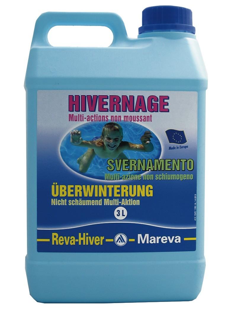 Produit D'hivernage : Reva-Hiver 3L De Mareva À 30Chf serapportantà Sulfate De Cuivre Pour Piscine