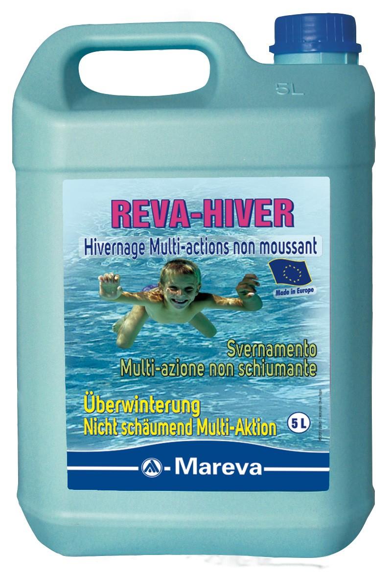 Produit Piscine D'hivernage Reva Hiver De Mareva 5L À 44Chf concernant Anti Calcaire Piscine