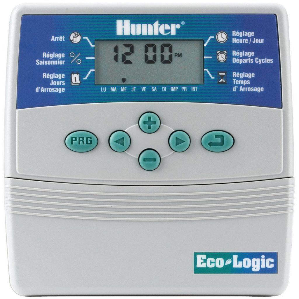 Programmateur 6 Voies Eco-Logic Hunter - Arrosage Irrigation ... destiné Programmateur Piscine