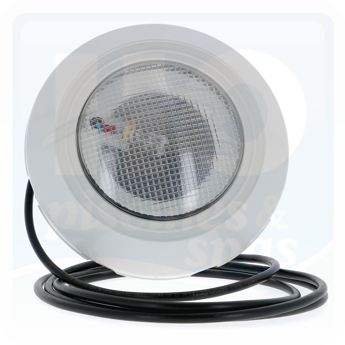 Projecteur Halogène - Kripsol - 100 W - 12 V Pour Piscine Coque Polyester -  Blanc - H2O Piscines & Spas encequiconcerne Projecteur Led Piscine