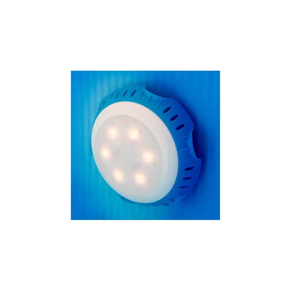 Projecteur Led Blanc Écologique (Branché Sur Le Refoulement) dedans Projecteur Led Piscine