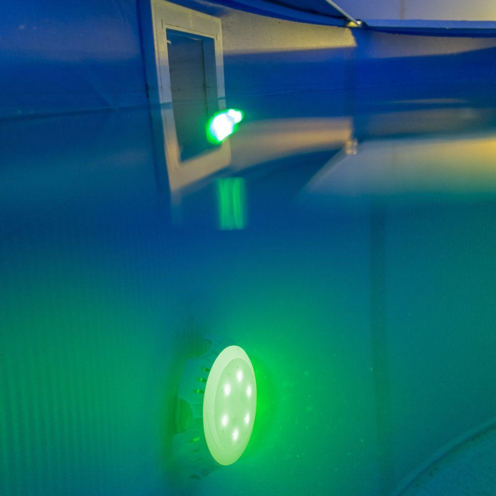 Projecteur Led Couleurs Pour Piscine Hors Sol - Gré destiné Eclairage Piscine Hors Sol