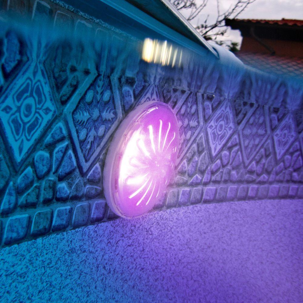 Projecteur Led De Couleurs Pour Piscine Hors Sol - Gré dedans Piscine Hors Sol Gre