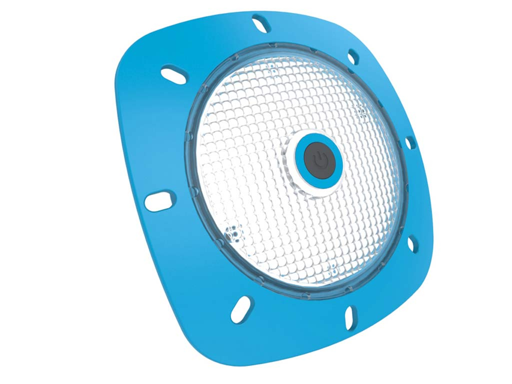 Projecteur Piscine Seamaid No(T)Mad Rechargeable Blanc Froid 18 Led 200 Lm  2W Bleu intérieur Projecteur Led Piscine