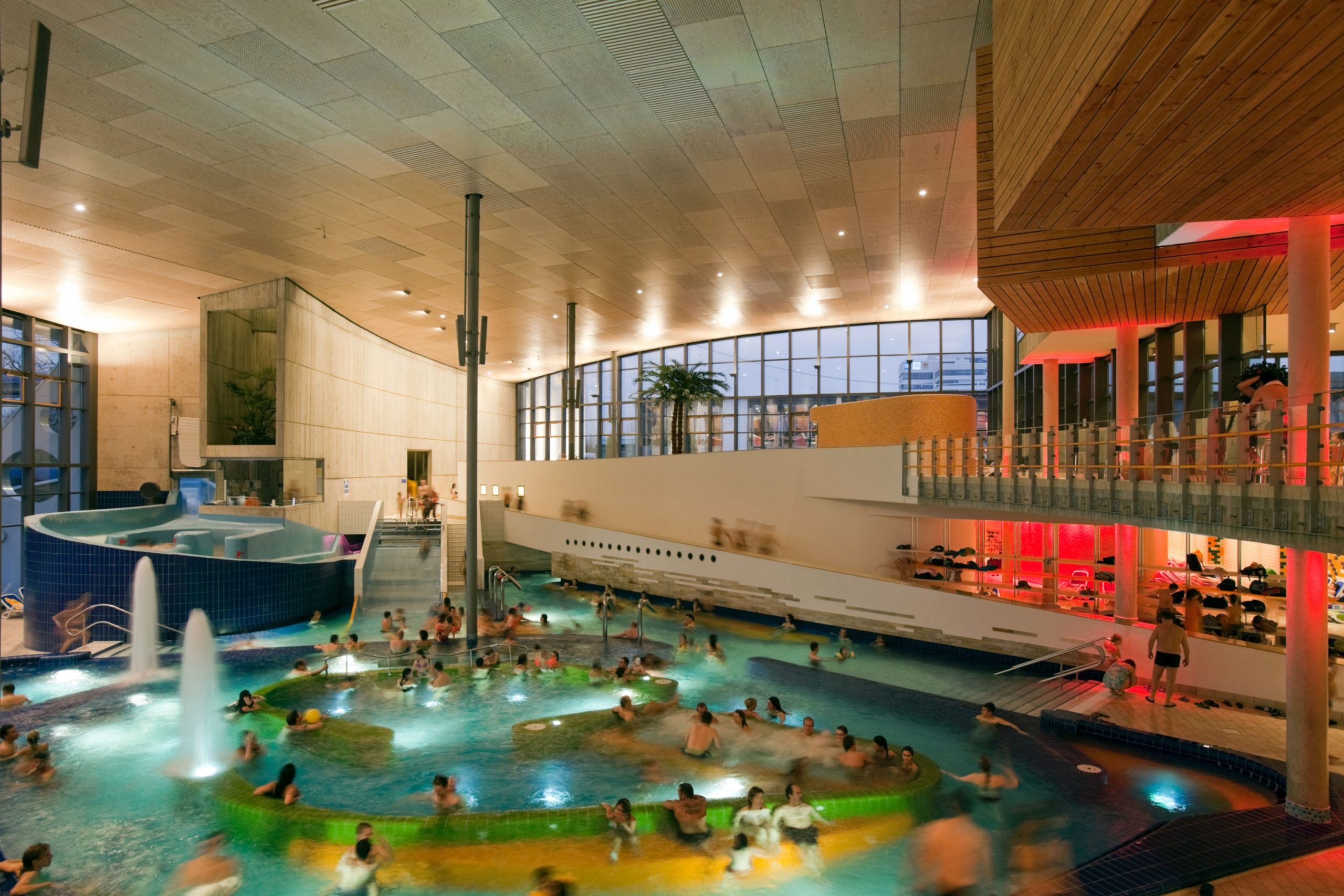 Projects - Public - Europabad Swimming Pool intérieur Piscine Karlsruhe