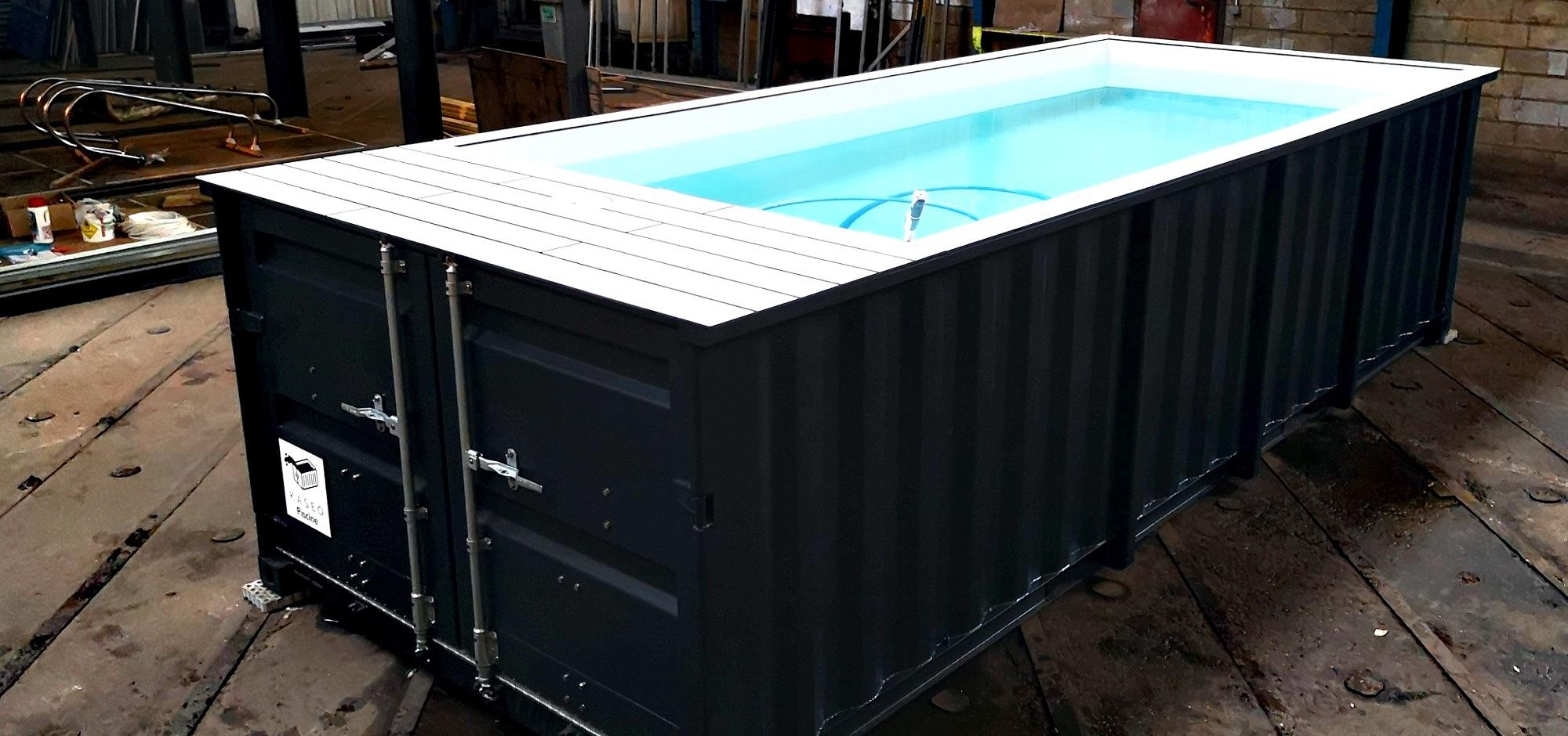 Projet 2018 : Le Container Piscine - Kaseo tout Piscine Conteneur
