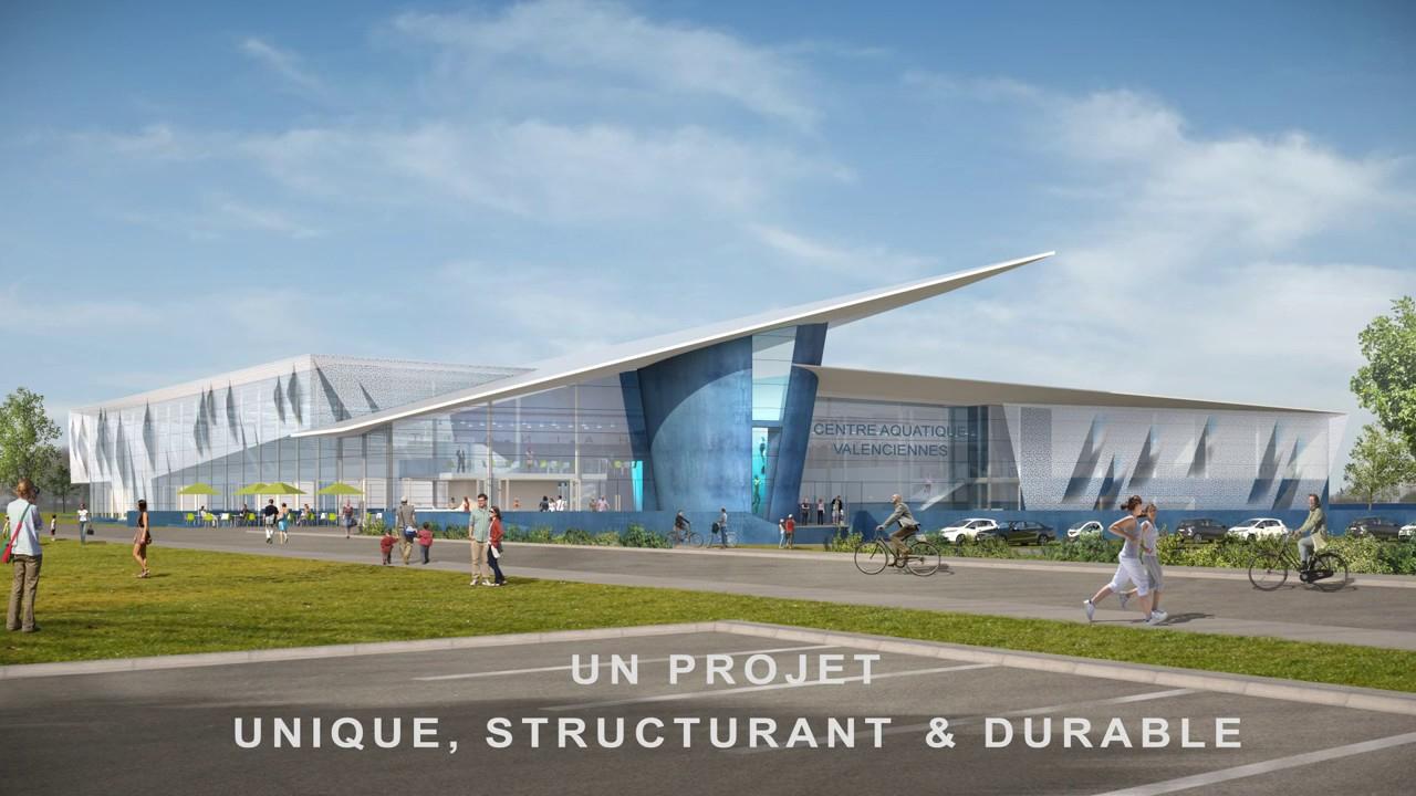 Projet Du Futur Centre Aquatique De Valenciennes à Piscine Valenciennes