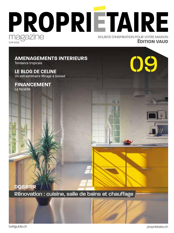 Propriétaire Magazine 09 Printemps 2019 Vaud By Propriétaire ... dedans Dimension Piscine Non Imposable
