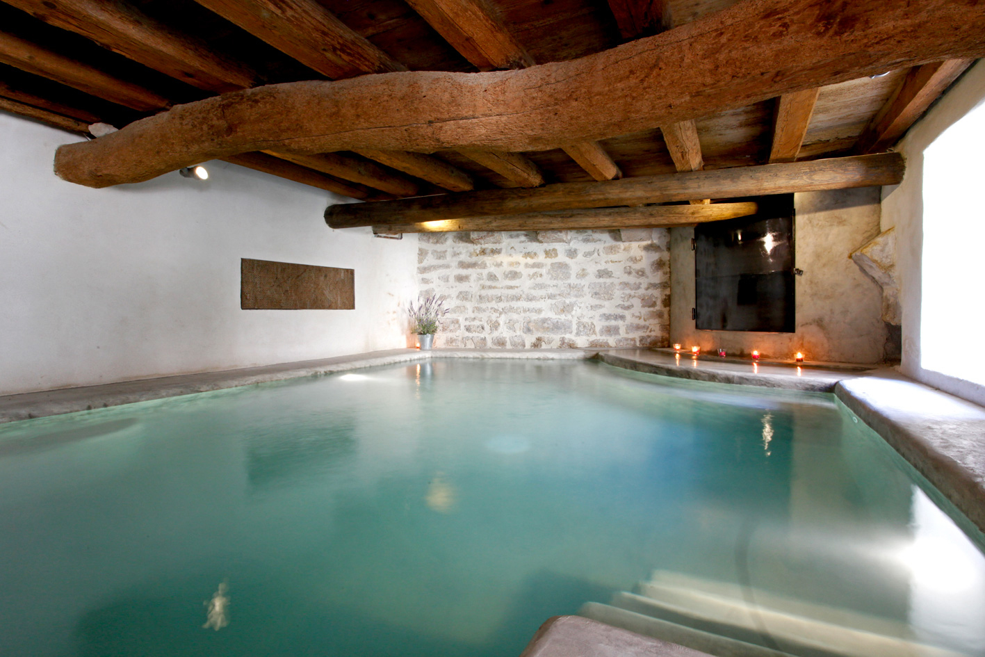 Provence Maison Avec Piscine Couverte dedans Location Avec Piscine Intérieure Chauffée Privée