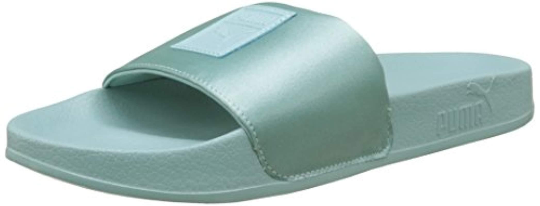 Puma Leadcat Patent Wns Chaussures De Plage & Piscine Femme ... pour Sandales De Piscine