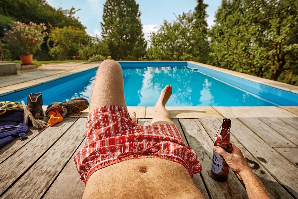 Quelle Est La Bonne Piscine? | Hornbach Luxembourg serapportantà Sur Quoi Poser Une Piscine Hors Sol