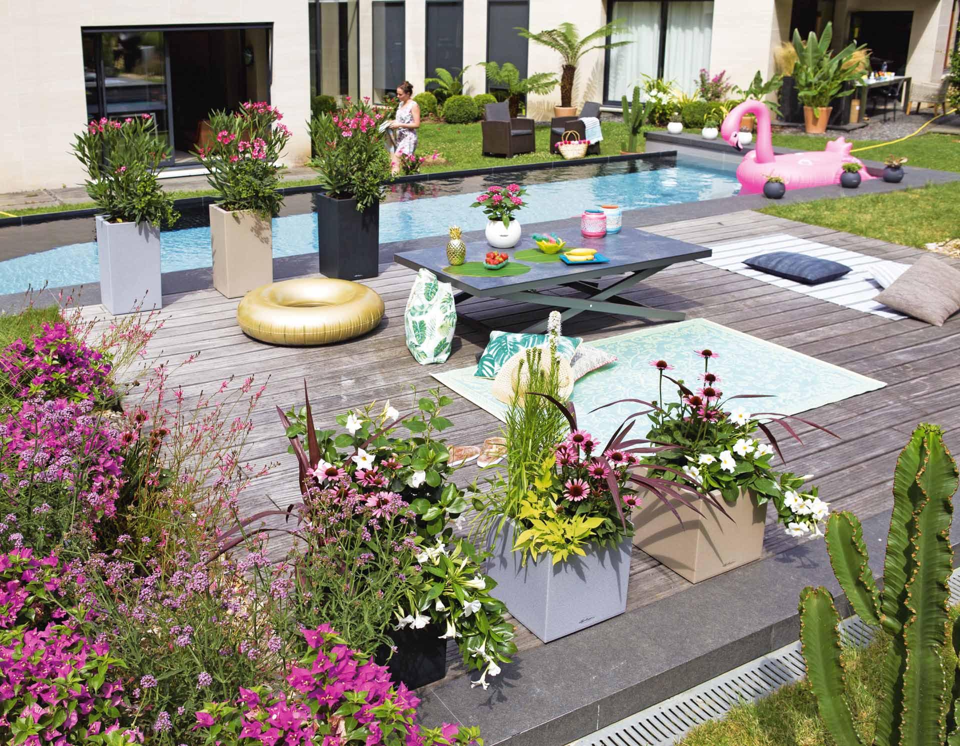 Quelle Piscine Choisir En Fonction De La Surface Du Jardin ? destiné Aménagement Autour D Une Piscine Hors Sol