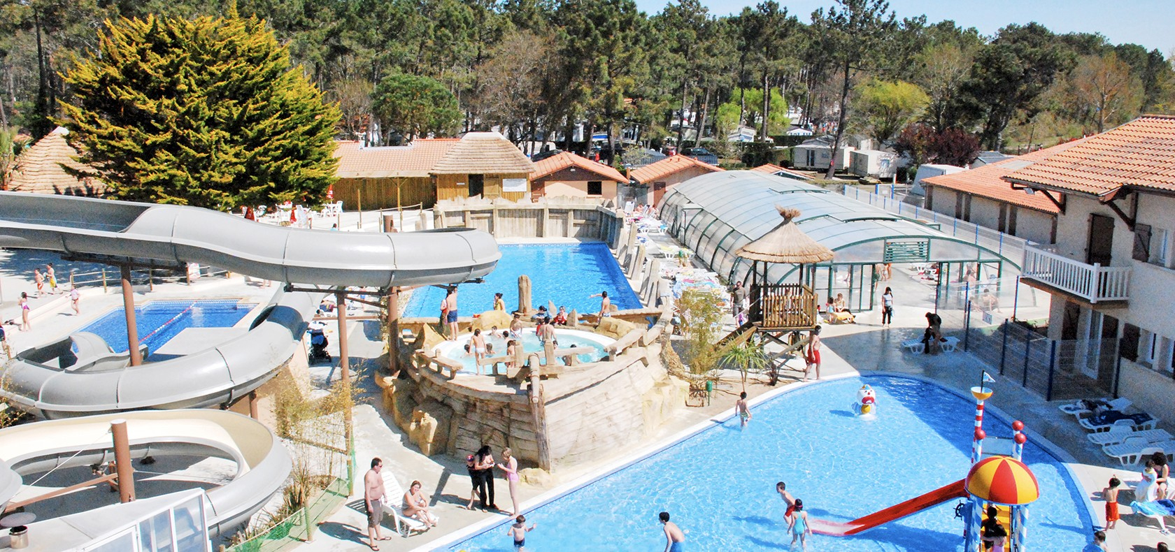 Camping landes avec piscine Camping avec piscine dans les landes