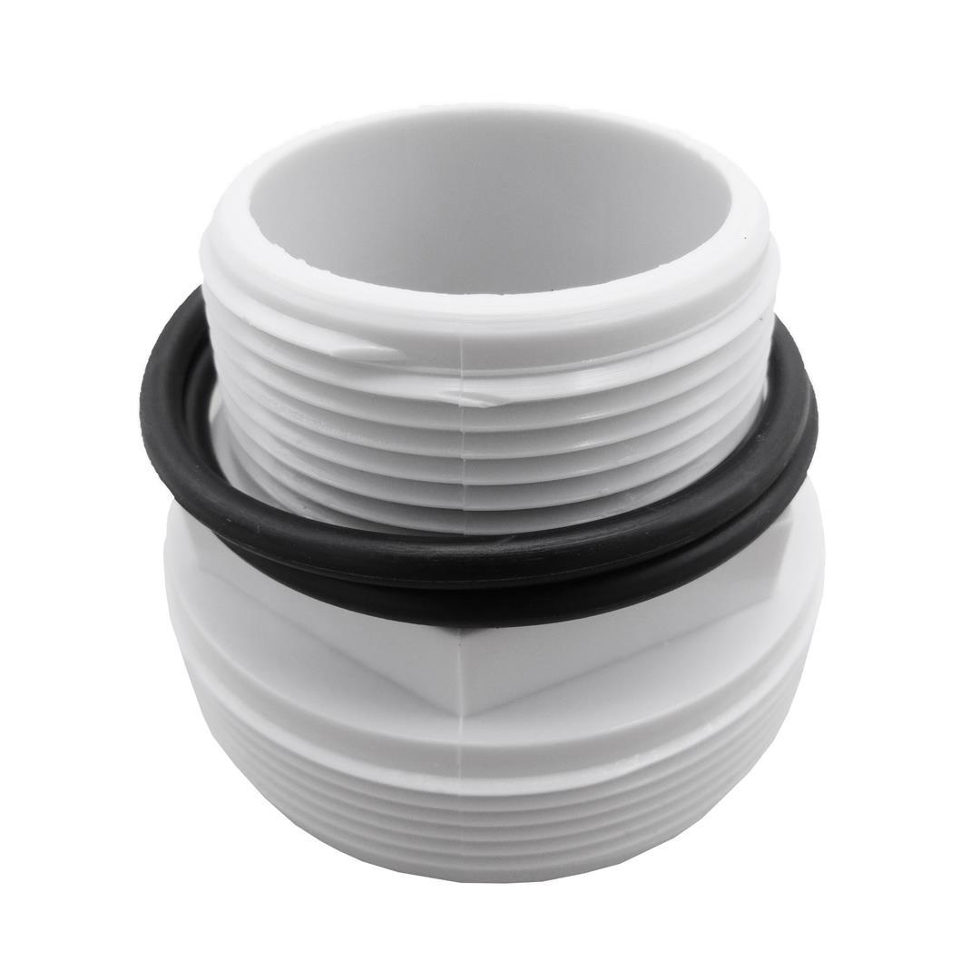 Raccord Avec 2 Joints Liaison Vanne/tuyau Poolfilter Ubbink ... destiné Raccord Piscine
