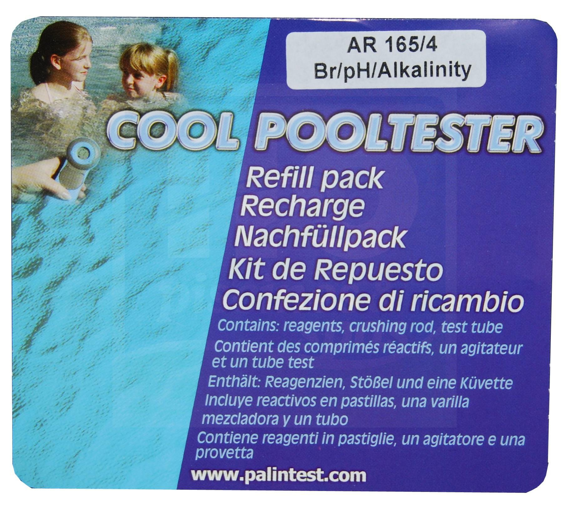 Réactifs Pour Photomètre Cool Pooltester Brome - H2O Piscines & Spas tout Photomètre Piscine