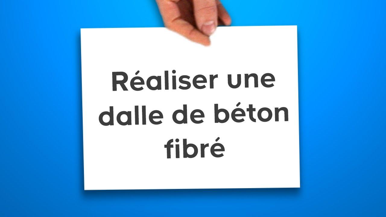 Réaliser Une Dalle De Béton Fibré (Castorama) serapportantà Dalle Piscine Castorama