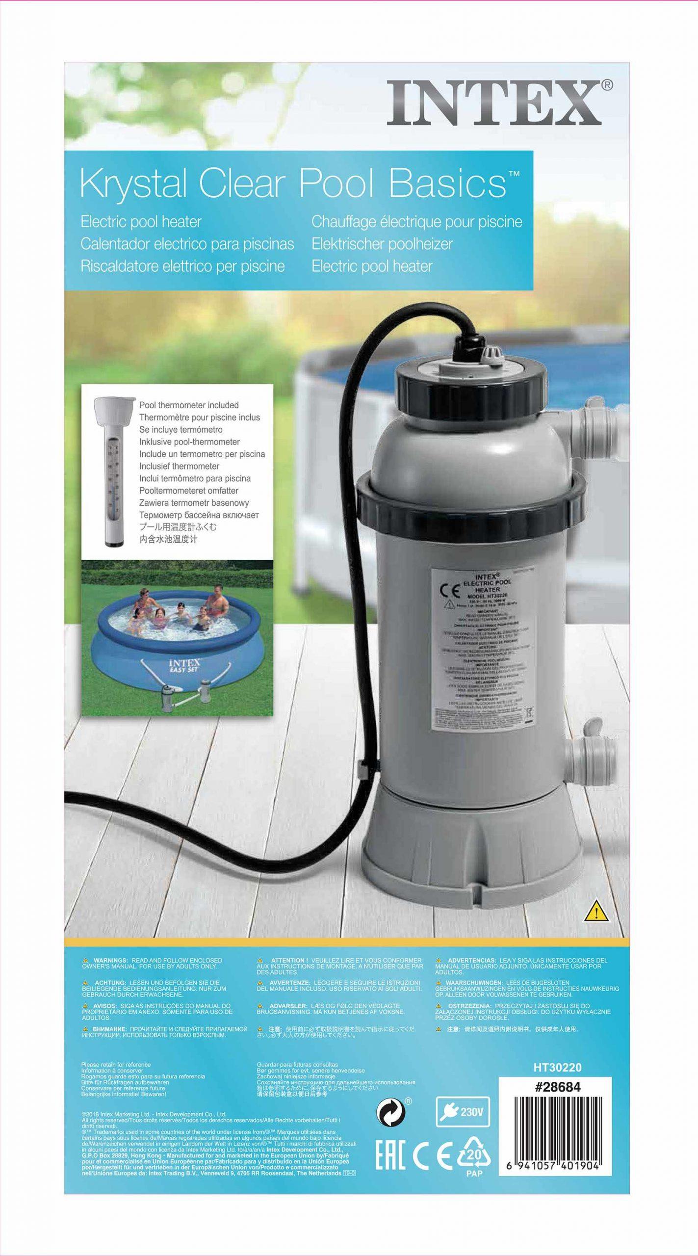 Réchauffeur Piscine Intex 28684 concernant Réchauffeur De Piscine Intex
