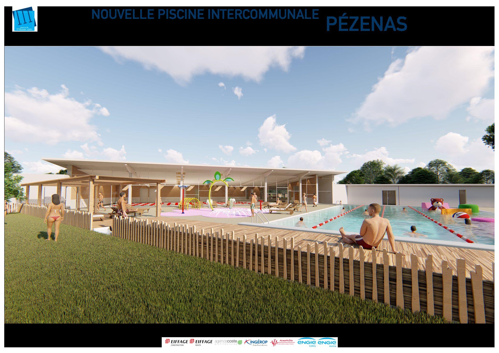 Reconstruction De L'espace Aquatique De Pézenas | Cahm serapportantà Piscine Pezenas